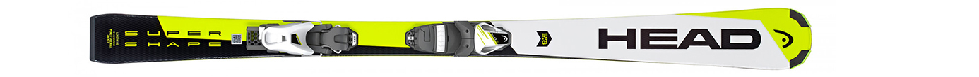Supershape SLR 2 White/Neon/Yellow + SLR 7.5 AC (120-150)